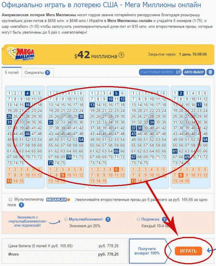 Hvordan spille verdenslotterier fra Russland - de beste utenlandske lotteriene online