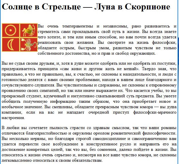 Гороскоп знака зодиака овен