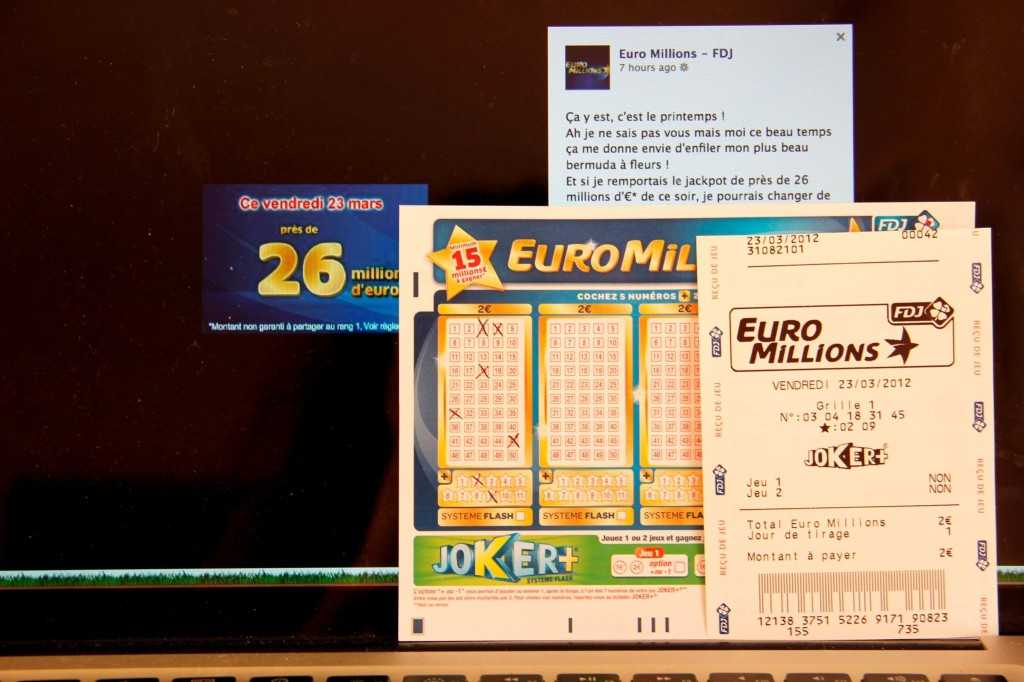 EuroMillion hvordan du kjøper en billett fra Russland og hvor du kan hente en premie