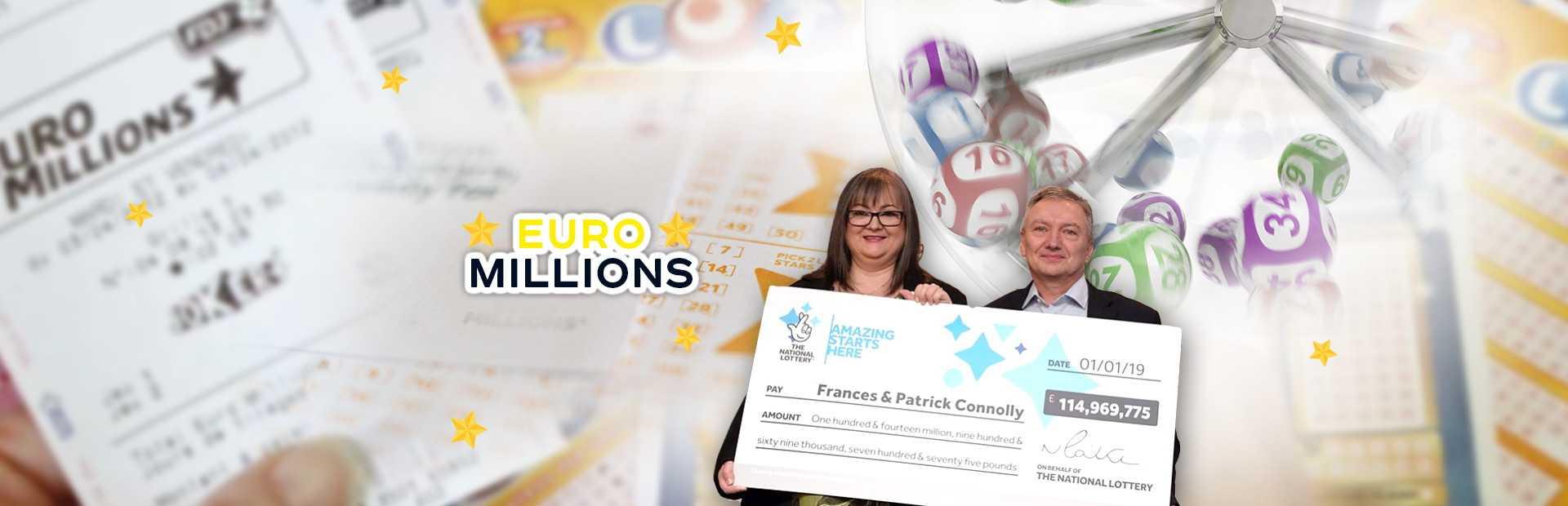 Fransk lotteri euromillioner og min million tombola (5 из 50 + 2 av 12)